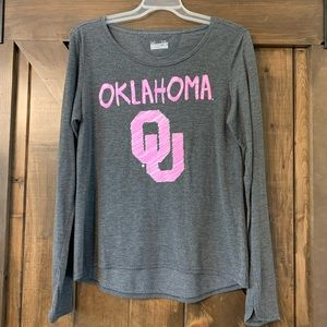 Under Armour OU Sooners Long Sleeved Tee Size XL